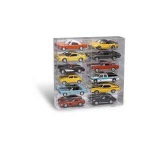 12 Car Display Case for 1/18 Scale Cars from Clearwater