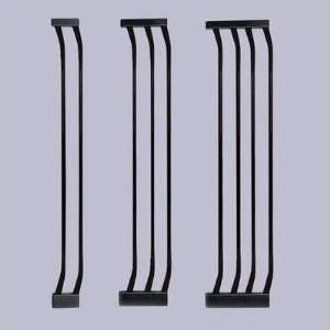 Bindaboo B11 XX Black Extra Tall Gate Extensions Baby