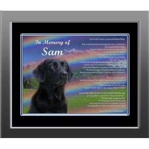 Rainbow Bridge Pet Memorial is Personalized with Picture