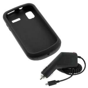 Cover Case + Car Charger for AT&T Samsung Focus i917 Windows 7 Phone
