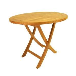 TBF035R 35 Inch Round Bistro Folding Table