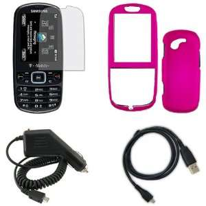 Samsung Gravity 3 T479 Combo Rubber Feel Hot Pink