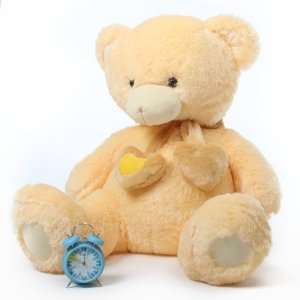 Sweet Hugs 45 Cream Lovable Stuffed Love Teddy Bear Toys