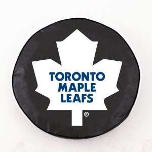 Toronto Maple Leafs NHL Black Spare Tire Cover
