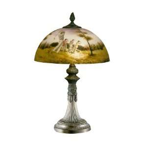 Dale Tiffany Parisian Park 2 Light Table Lamp 10161 751