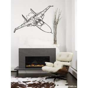 Military JET Wall Decor Vinyl Decal Sticker D 415