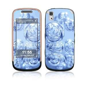 Drops of Water Decorative Skin Cover Decal Sticker for Samsung