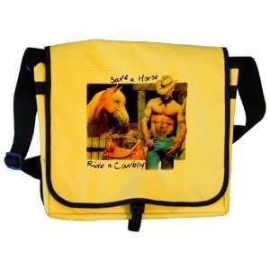 Messenger Bag Country Western Cowgirl Save A Horse Ride A