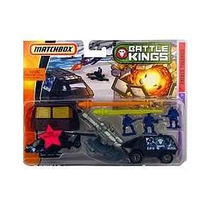 Matchbox Battle Kings Coastal Strike Military Playset