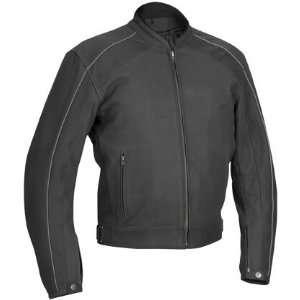 River Road Anvil Perforated Leather Jacket   52/Matte