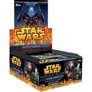 Star Wars Revenge Of The Sith Trading Cards Retail Box