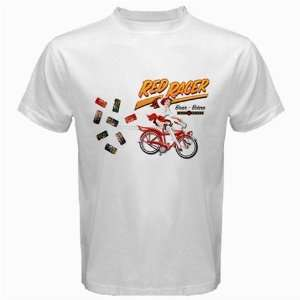 Central City Red Racer India Pale Ale Beer Logo New White T shirt Size