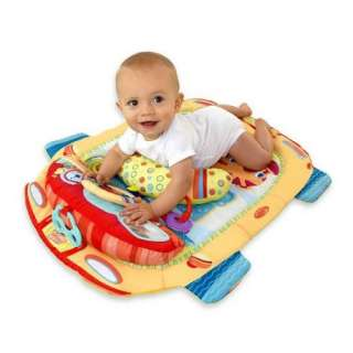 Bright Starts Tummy Cruiser Tummy Time Mat Toys  Pillow