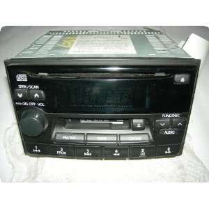 03 receiver, AM FM stereo cassette CD, single disc player Automotive
