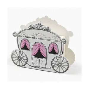 12 Mini Carriage Treat Boxes
