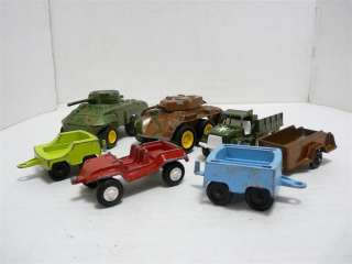 USA Lot of 7 Truck Tank Car Trailer Diecast Model Toy