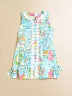 Lilly Pulitzer Kids   Toddlers & Little Girls Lilly Lace Shift