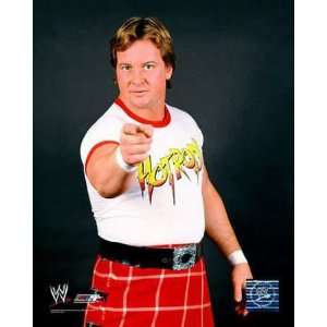 Rowdy Roddy Piper White Red Ringer T shirt Hot Rod Tee Xl