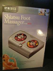 NMIB Homedics SHIATSU FOOT MASSAGER w/ HEAT