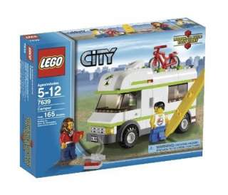 LEGO City Camper (7639) Building Toys Kids Hobbies Education New And