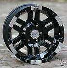 17 inch Black Wheels/Rims MOTO METAL 951 Chevy Gmc 1500 Trucks 6 lug