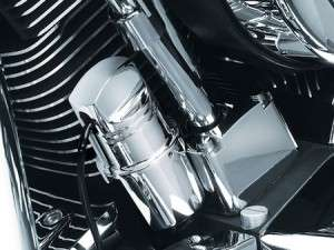 Kuryakyn 1600 Chrome Oil Pressure Sending Unit Cover