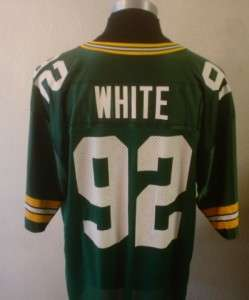 Nike 1990s Green Bay Packers REGGIE WHITE #92 Football Jersey 2XL/XXL