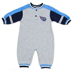 Tennessee Titans Infant Fleece Romper Coveralls   18 Months
