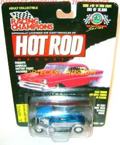 1934 34 FORD COUPE RC HOT ROD MAGAZINE DIECAST