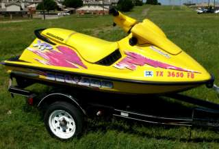1996 SeaDoo XP Jet Ski WaveRunner PWC Sea Doo New SBT Engine 50+mph
