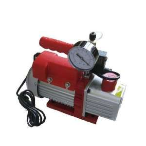 Refrig Air Condition Vacum Vacuum Pump Valve + Gauge